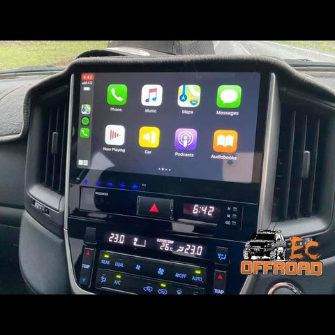 10inch Android 10 Custom EC Unit to suit LandCruiser 200 Series 2016+