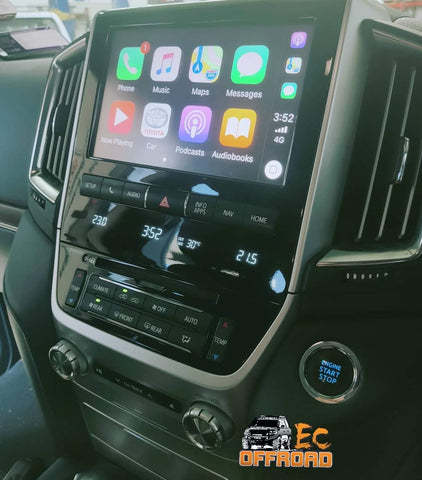 Interface Module unit to suit LandCruiser 200, Car Play & GPS. Android system. July 2018 - 2021