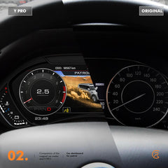 Digital Dash Cluster to suit Y62 Patrol SALE