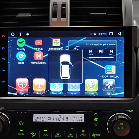 10inch Android Head Unit for Prado 2009-2017