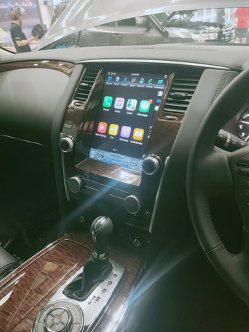 12inch Head Unit to suit Nissan Patrol Y62
