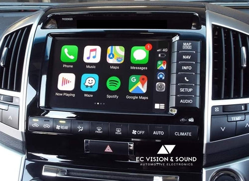 Interface Module unit For Landcruiser 200, Car Play & GPS, Android system. 2013-2015 Sahara