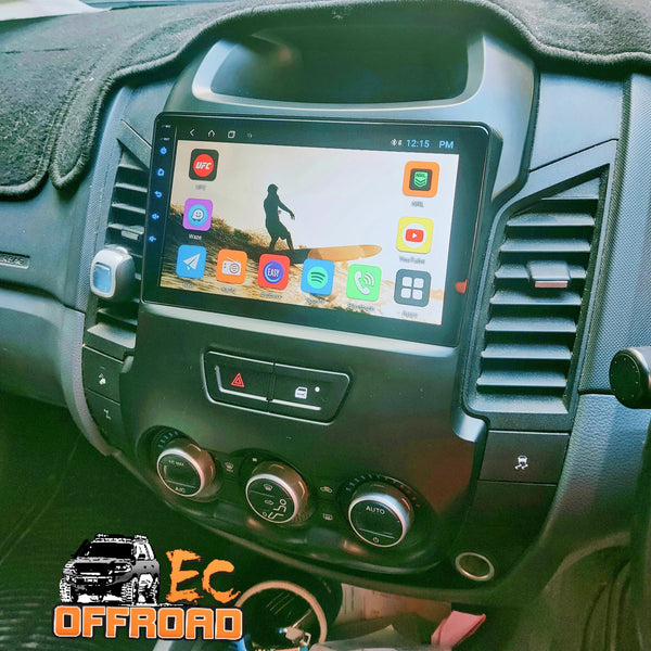 10inch Custom EC Head unit to suit FORD RANGER 2011-2016