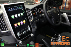 13.6inch Android 9 Vertical Head unit to suit LandCruiser 200 Series 2015+ GXL