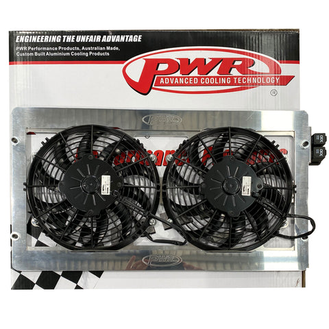 PWR Intercooler Fans to suit Toyota Landcruiser 200 Series