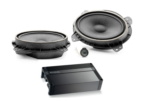 ENTRY LEVEL SPEAKER PACKAGE WITH AMP FOR TOYOTA