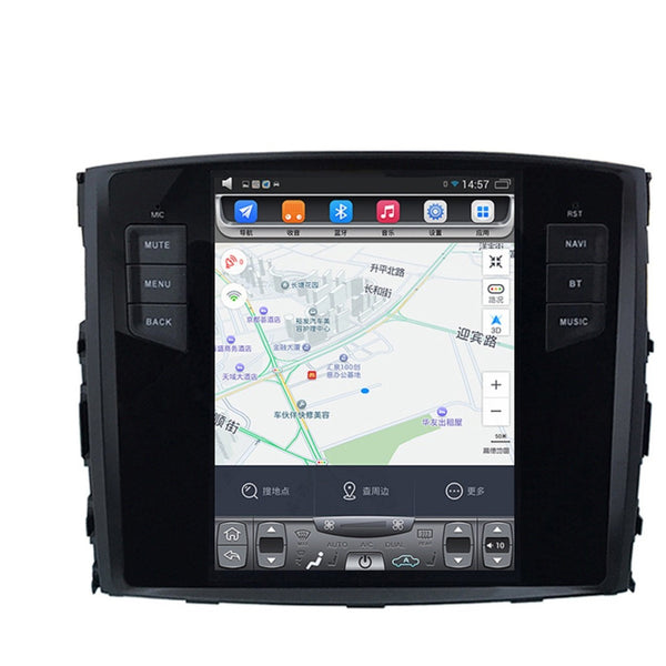 10.4inch Android Head unit for Mitsubishi Pajero 06-15