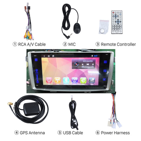 9inch Android Head unit for HILUX 2012+