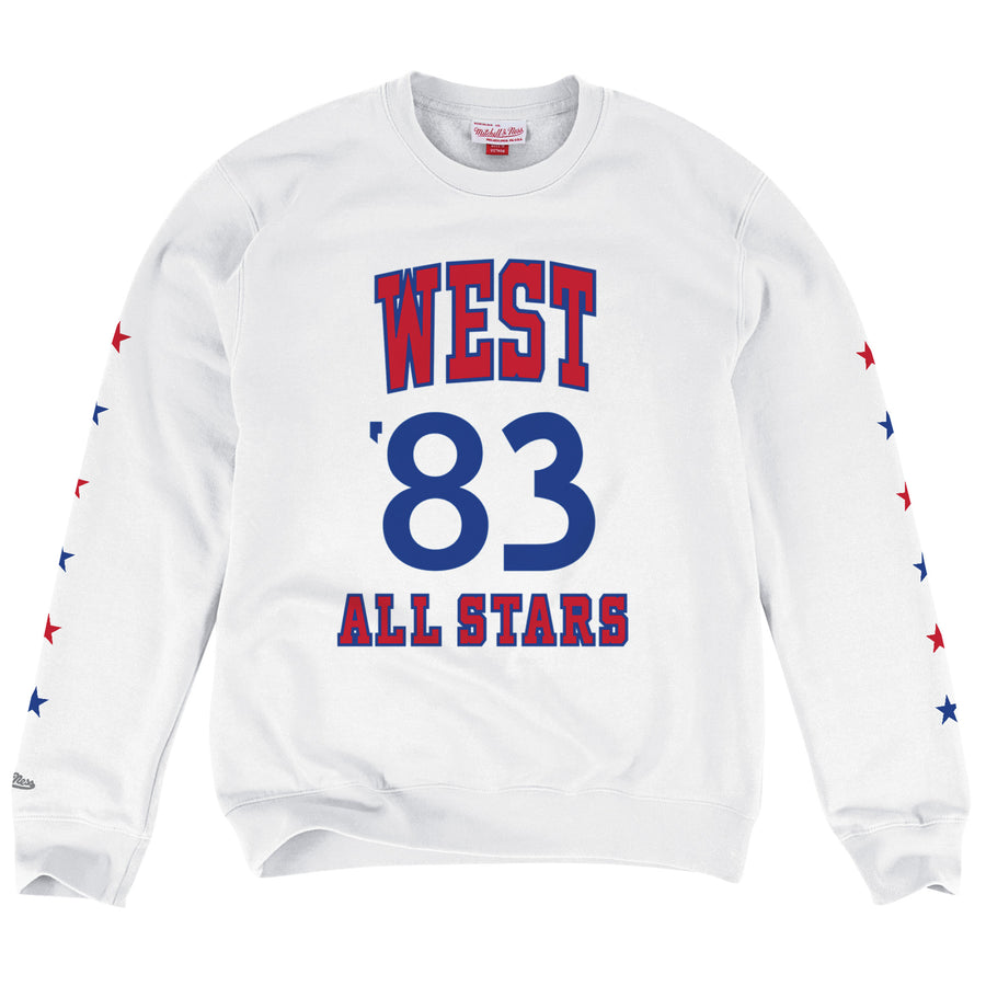 Crewneck Sweat Shirts (クルーネックスウェット) All-Star Game 1983 Western (NBAオールスター1983)