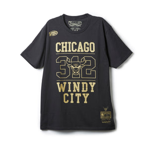 Gold Area Code Tee Chicago Bulls (シカゴブルズ Tシャツ)