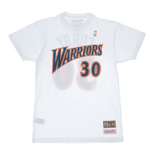STEPHEN CURRY (ステフィン カリー) NAME&NUMBER TEE GOLDEN STATE WARRIORS (ゴールデンステイトウォーリアーズ)