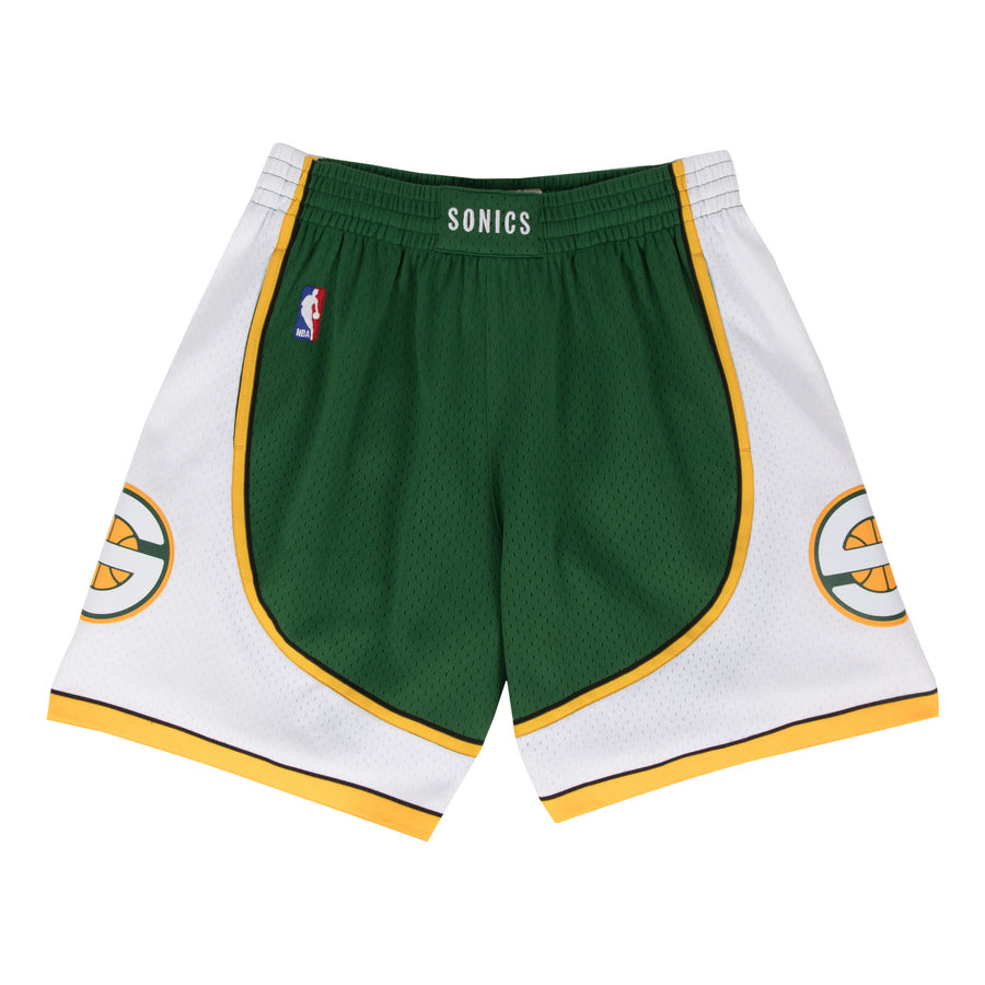 NBA SWINGMAN ROAD SHORTS SUPERSONICS 07-08