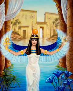 Auset Egyptian Oracle Cards by Elisabeth Jensen