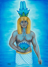 Load image into Gallery viewer, Auset Egyptian Oracle Cards by Elisabeth Jensen