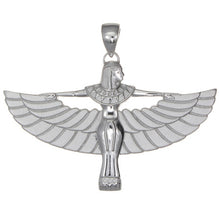 Load image into Gallery viewer, Goddess Auset — Wings II Pendant