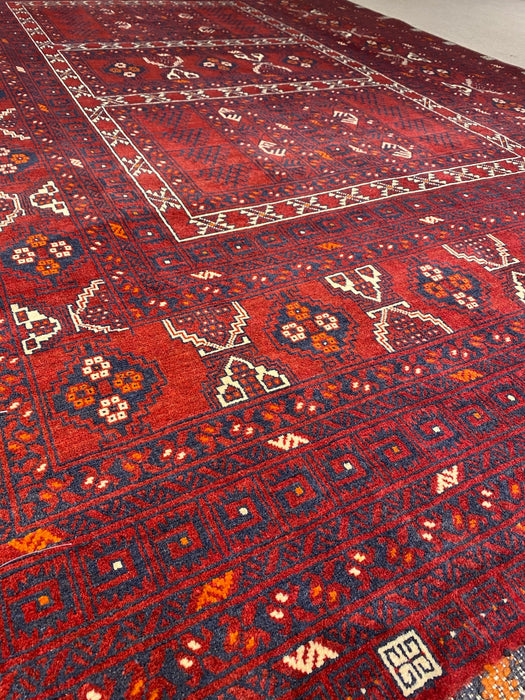 5.4X8.0 Persian Hand Knotted 100% Wool Area rug (Super Quality)