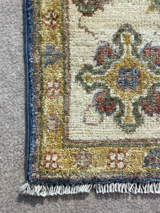 4'0X6'0 Chobi Hand Knotted 100% Wool Area rug