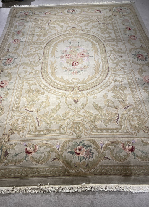 8'0X10'0 Indo-Persian Hand Knotted 100% Wool Area rug