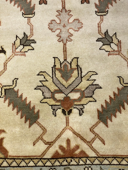 9'0X12'0 Serapi Hand Knotted 100% Wool Area rug