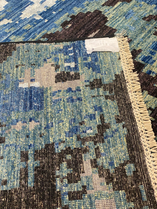 10'0X10'0 Chobi Hand Knotted 100% Wool Area rug