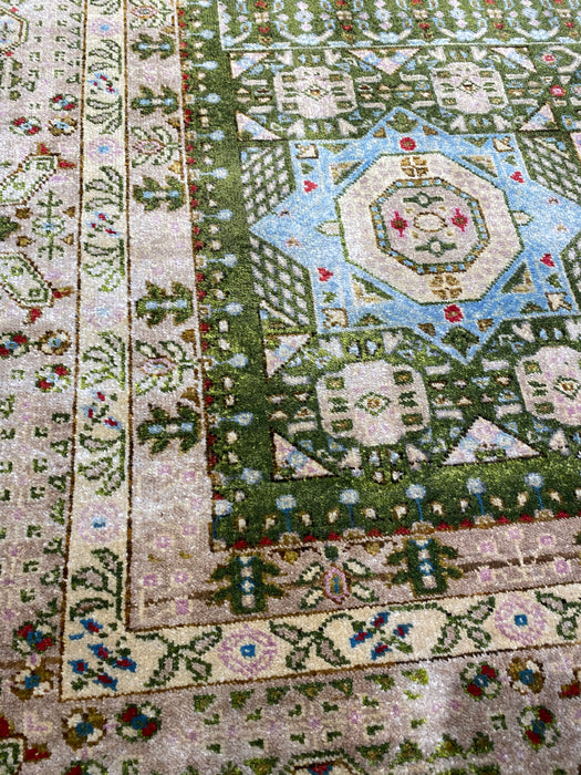 9'0X12'0 Mumlook Hand Knotted 100% Wool Area rug
