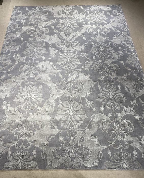 9'0X12'0 Nepali Hand Knotted 100% Wool Area rug