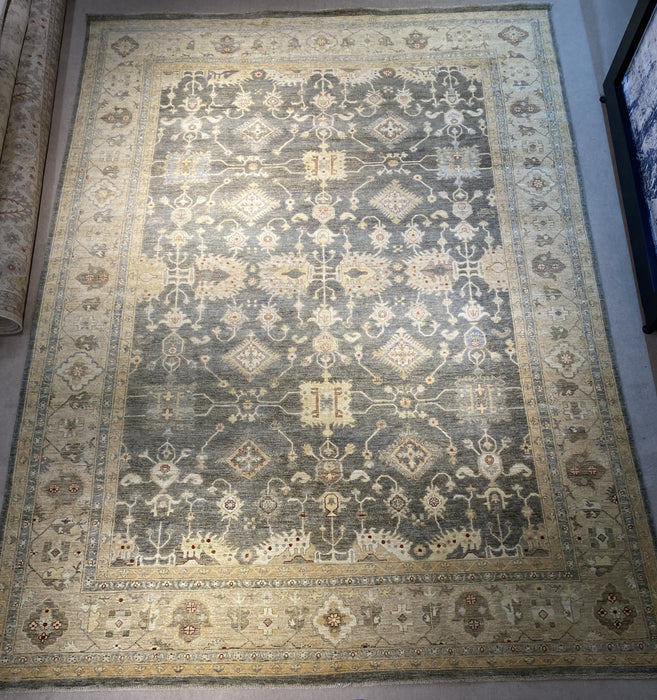 10'0X14'0 Chobi Hand Knotted 100% Wool Area rug