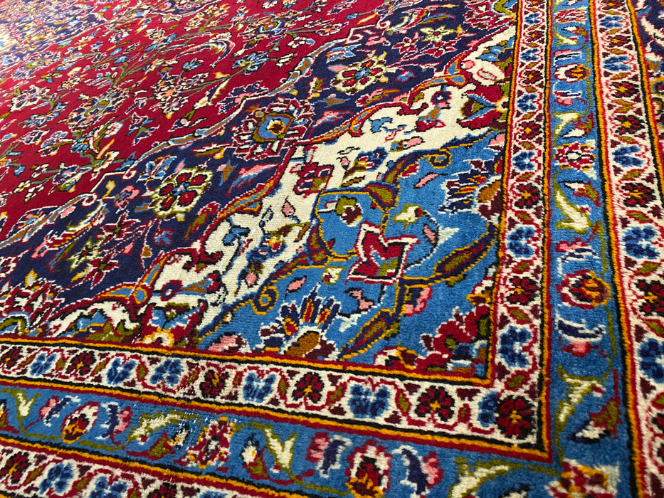 10'X14' Persian Hand Knotted 100% Wool