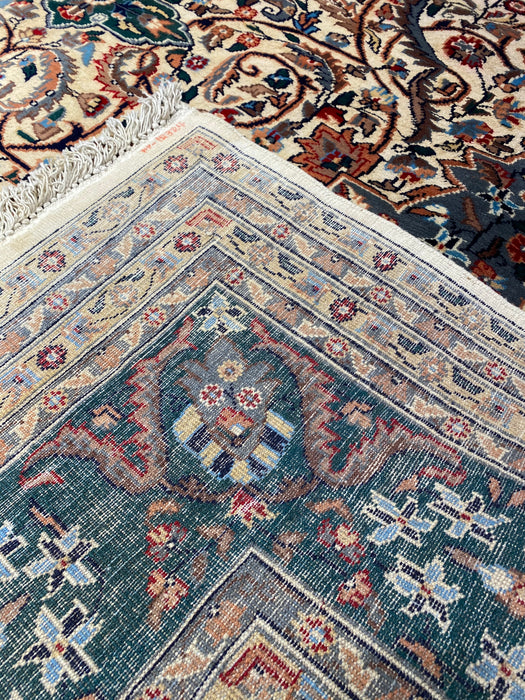 9'0X12'0 Tabriz Persian Hand Knotted 100% Wool Area rug (Antique)