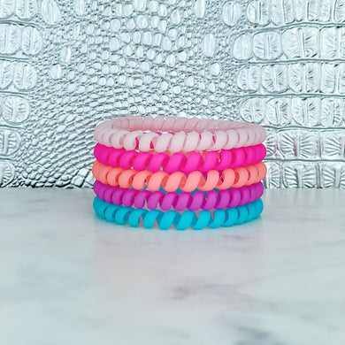 Hotline Hair Ties- Paradise Matte Skinnies
