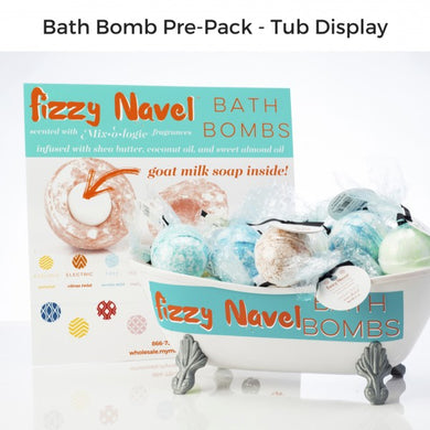 Mix•o•logie Fizzy Navel Bath Bombs