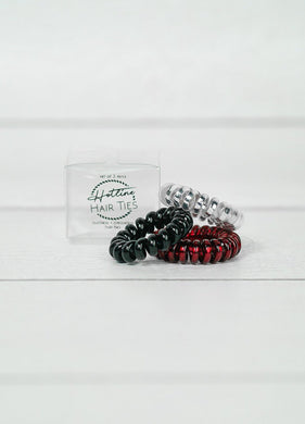Hotline Hair Ties- Lady Bug Mini Set