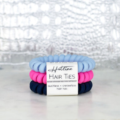 Hotline Hair Ties- Summer Prep