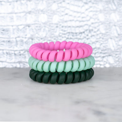 Hotline Hair Ties- Watermelon Matte