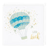Air Balloon Good Luck Card