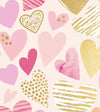 Blush Hearts Wrap Tag