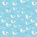 Seagull Stripe Wrapping Paper Pack