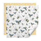 Bee Dots Wrapping Paper Pack