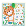 Happy Lion Childrens Birthday Card
