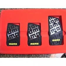 (ITALY) MOMO DNA BASIC MANUAL PEDAL KIT- BLACK - MYOTO MALL