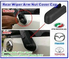 PERODUA AXIA MYVI VIVA MAZDA CX5 TOYOTA AVANZA INNOVA REAR WINDSHIELD WIPER ARM WASHER NUT CAP COVER REPLACEMENT - MYOTO MALL