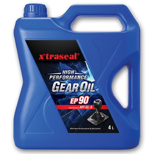 X`traseal High Performance Gear Oil EP90 (API GL-5) (4L) - MYOTO MALL