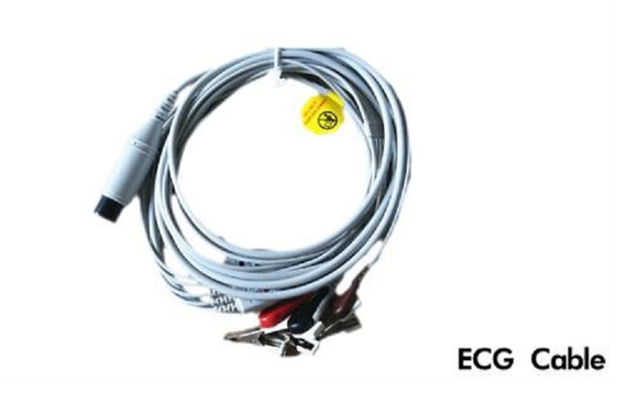 5 Leads One Piece ECG Cable AHA Snap GE Marquette ECG Cable  with clips - Utech Medical Device Pty Ltd