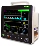 "PM6000P 12"" Multi-parameters Monitor with ECG RESP SpO2 NIBP TEMP PR Printer - Utech Medical Device Pty Ltd"