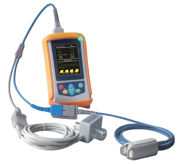 UT100CM Handheld Capnography Monitor with SPO2 Mainstream ETCO2 PR RESP - Utech Medical Device Pty Ltd