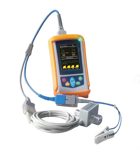 UT100VCM Handheld Veterinary Capnography Monitor with SPO2 Mainstream ETCO2 PR RESP