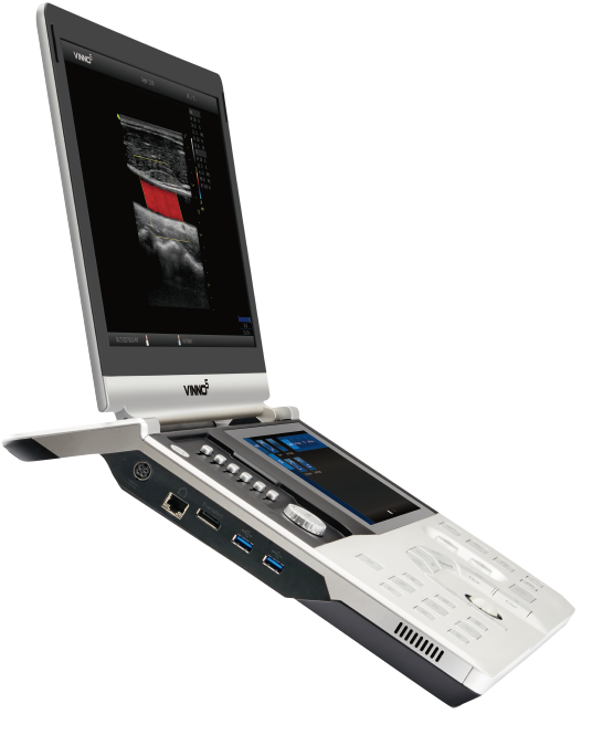 VINNO 5 Color Ultrasound Machine- Slim Compact portable Color touchscreen - Utech Medical Device Pty Ltd