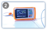 UT100V Handheld Veterinary Pulse Oximeter with SPO2 PR RESP - Utech Medical Device Pty Ltd