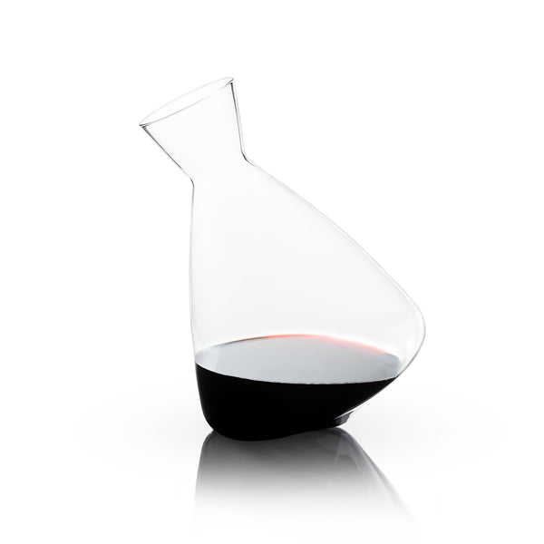 RAYE: CRYSTAL ROLLING DECANTER BY VISKI | CHROMA STUDIO
