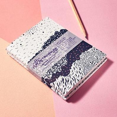 ART CIRCUS 'CORAL' NOTES + MUSINGS LIMITED-EDITION NOTEBOOKS - CHROMA STUDIO MELBOURNE